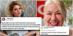 #HelpTurkey Paylaşımına Karşı Çıkan Sanatçı Şehrazat ile Farah Zeynep Abdullah Twitter'da Birbirine Girdi!
