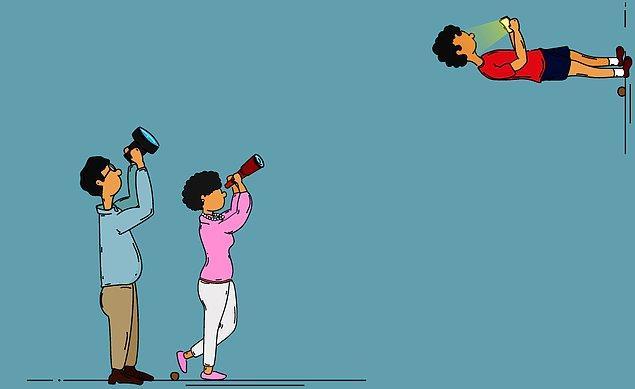 8. Helikopter ebeveynliğe daha az maruz kalırlar.