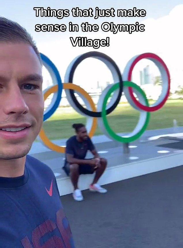 İnsanların Olimpiyatları izlerken genellikle göremedikleri şeyleri gösteriyor ve işte bu, sporcuların yarışmadıkları zamanlarda zaman geçirdikleri köy.