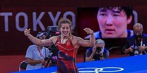 Kadınlarda Türkiye'ye Güreşte İlk Olimpiyat Madalyasını Getiren Yasemin Adar'a TRT Muhabiri: 'Bronz Ama Olsun'