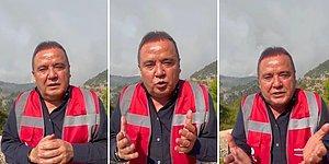 Antalya Büyükşehir Belediye Başkanı Muhittin Böcek Yardım İçin Yalvarıyor: Ne Olur Uçak, Helikopter Gönderin!