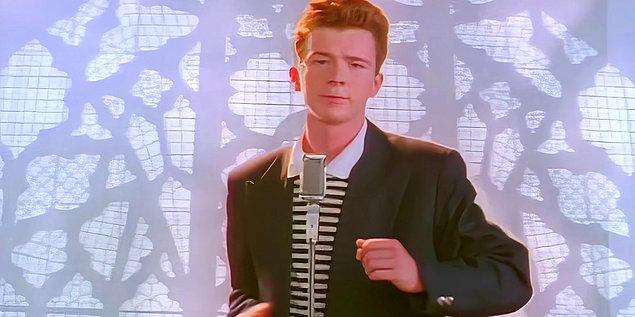 80. Rick Astley - Never Gonna Give You Up