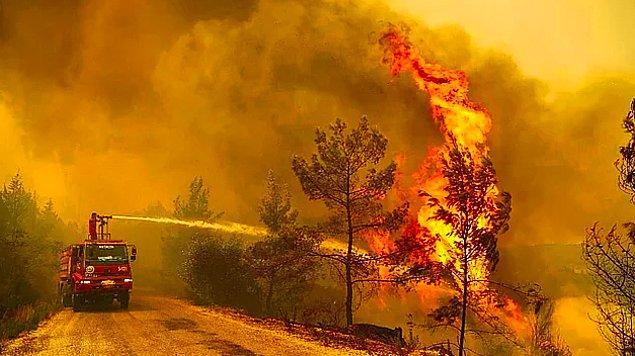 Günlerdir tüm Türkiye'nin asla durmak bilmeyen yangınlarla ciğeri yanıyor...