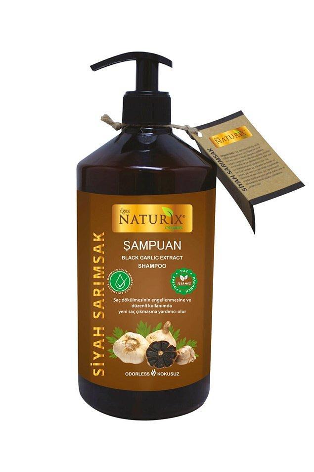 Naturix tuzsuz şampuanı tek olarak da alabilirsiniz elbette...