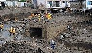 Japonya'da 1 Ay Önce Meydana Gelen Heyelanda Kaybolan 5 Kişi Hala Aranıyor