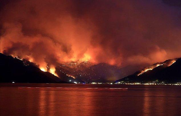 Alevler hızlandığında müdahale neredeyse imkansız hale geliyor