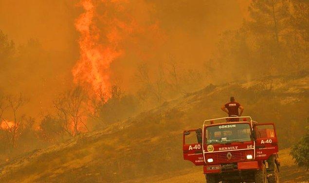Günlerdir Türkiye yanıyor, içimiz parçalanıyor. Ülke tarihimizin en büyük orman yangınlarından birini yaşıyoruz. Topyekün bir mücadele içindeyiz.