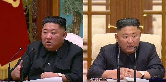 Bu arada, Kim'in Temmuz ortasında halka açık faaliyetlere verdiği iki haftalık mola sırasında, başında yeni bir iz ve bandajla ortaya çıkmadan hemen önce Wonsan malikanesinde vakit geçirdiği düşünülüyor.