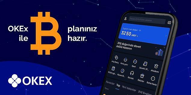 Kripto para konusundaki tüm işlemlerinizi Dünyanın Lider Kripto Borsası OKEx ile gerçekleştirebilirsiniz!