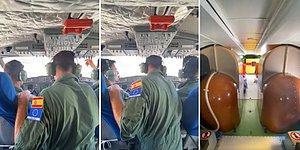 İspanya'dan Gelen Yangın Söndürme Uçağı Havalandı: İşte O Uçağın İçinden Kaydedilen Görüntüler