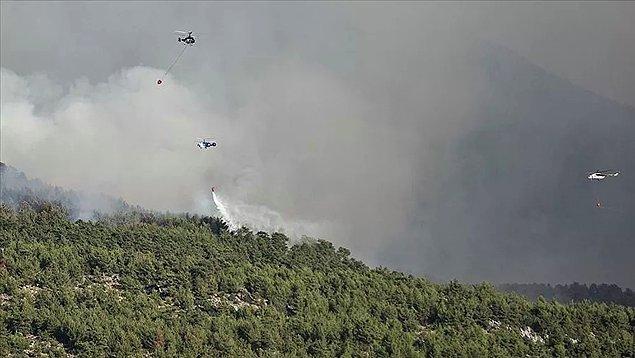 15:14 Türkiye'deki orman yangınlarına 6 ülkeden hava desteği geldi.