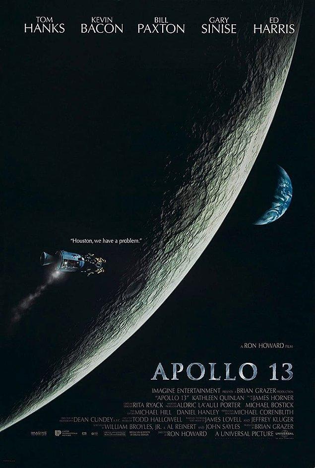 6. Apollo 13 - IMDb 7.6