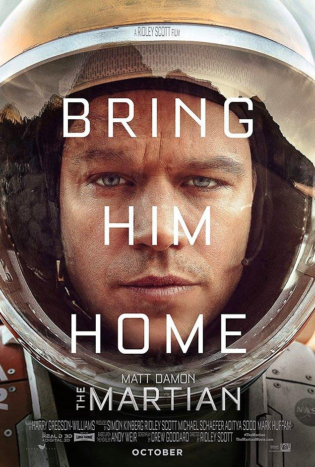 4. The Martian - IMDb 8.0