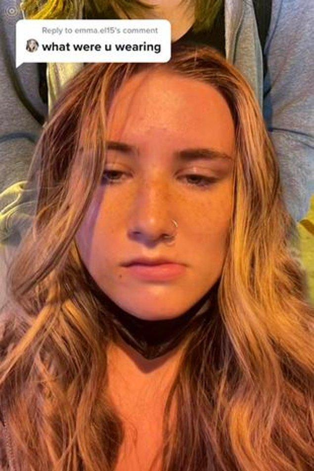 Daha sonraki günlerde takipçilerinden bir tanesi olay çıkartan kıyafeti paylaşmasını isteyince Sierra yeni bir video daha paylaştı.