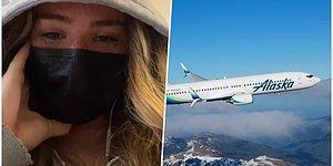 Giydiği Kıyafetin Uygunsuz Olduğu Gerekçesiyle Bir Görevli Tarafından Uçaktan İndirilmeye Çalışılan Genç Kız