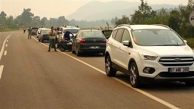 18:20 Gündoğmuş'a giden yol trafiğe kapatıldı