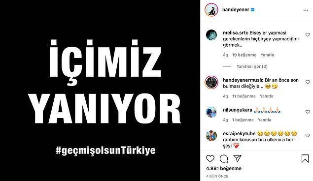 15. Hande Yener, Bodrum Belediyesi'ne yaptığı bağışla ihtiyaçların karşılanabilmesi için destek oldu!
