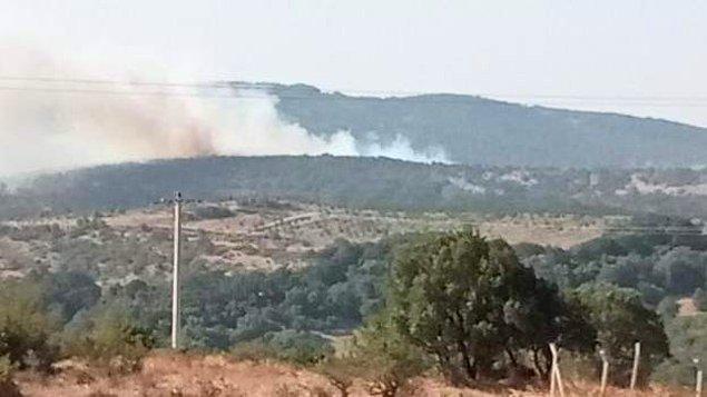 19:27 Balıkesir Savaştepe'de yangın