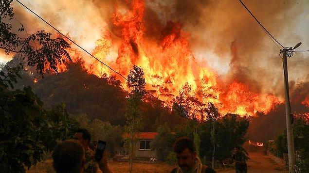 20:00 Manavgat'taki yangınla ilgili soruşturmada bir kişi tutuklandı