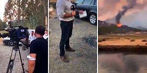 TRT Haber Ekibine Marmaris'te Tepki: 'Doğru Haber Verin, Bizi Çekin Biz Anlatalım!'