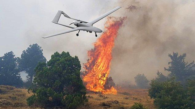 Orman Genel Müdürü Bekir Karacabey'in bu haber aracılığıyla aktardığına göre, dünyanın en büyük orman yangını söndürme helikopterini de bizdeydi.