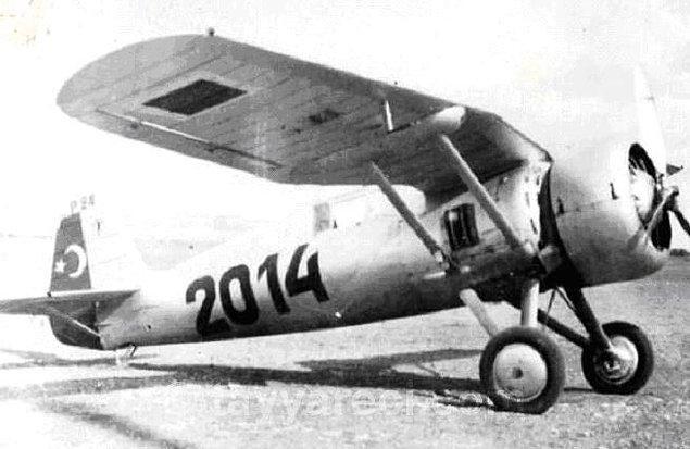 4. PZL P-24 Av Uçağı (1943'e kadar 27 tane üretilir.)