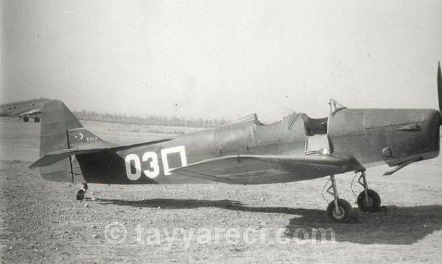 6. Miles Magister Mk.I/IA Eğitim Uçağı (1942'ye kadar 26 tane üretilir.)