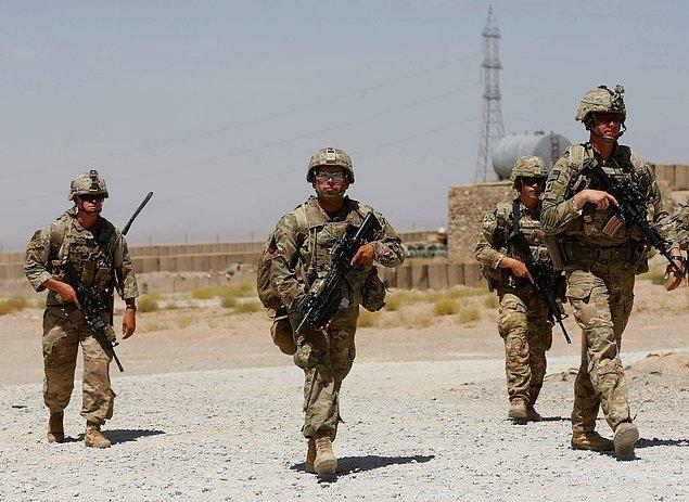 Amerika bilindiği üzere uzun yıllardır Afganistan'da.