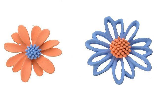 6. Kulaklarınıza bu çiçekler çok yakışacak.
