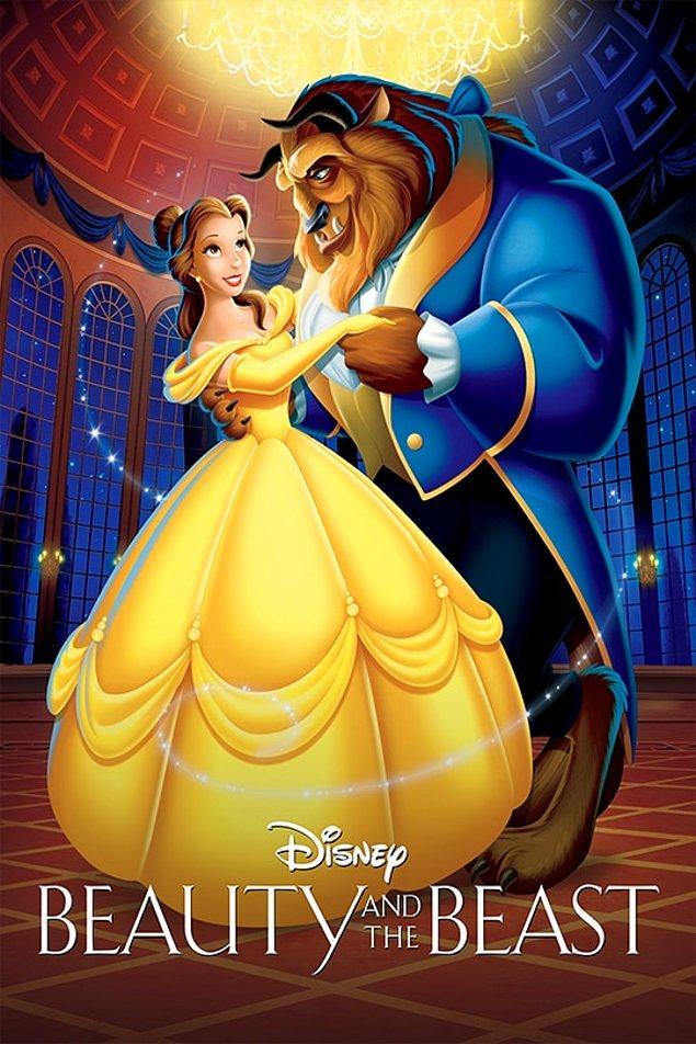 2. En İyi Film Oscar'ına aday olmuş ilk animasyon filmi: Güzel ve Çirkin (1991)