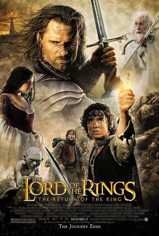 3. En İyi Film Oscar'ını kazanan ilk ve tek fantastik film: Yüzüklerin Efendisi: Kralın Dönüşü (2003)