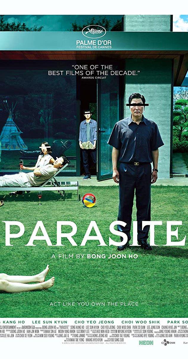 9. Yabancı dilde olup En İyi Film Oscar'ını kazanan ilk film: Parazit (2019)