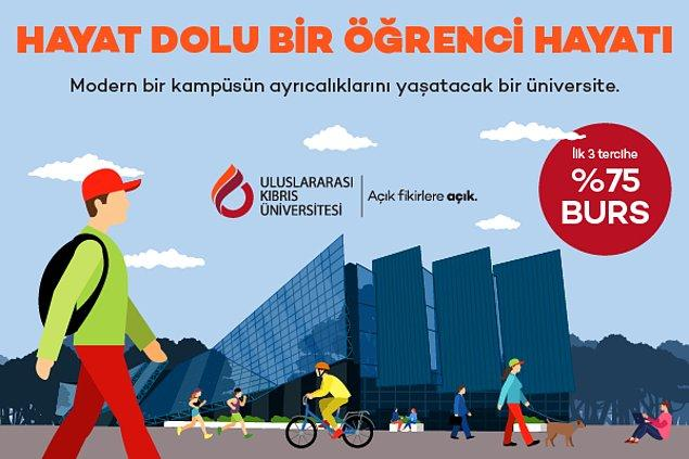 Diploması dünya çapında geçerliliğe sahip Uluslararası Kıbrıs Üniversitesi ile geleceğinize doğru adımı, doğru tercihle atın!
