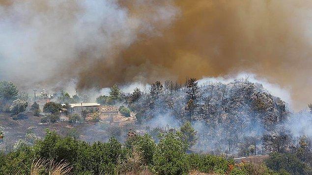 Karşı ateşin iki yöntemi bulunuyor: Basit karşı ateş ve kademeli karşı ateş.