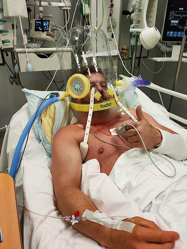 Yoğun bakım ünitesinde yatan adam geçtiğimiz hafta enfeksiyon ve organ yetmezliğinden dolayı hayatını kaybetti.