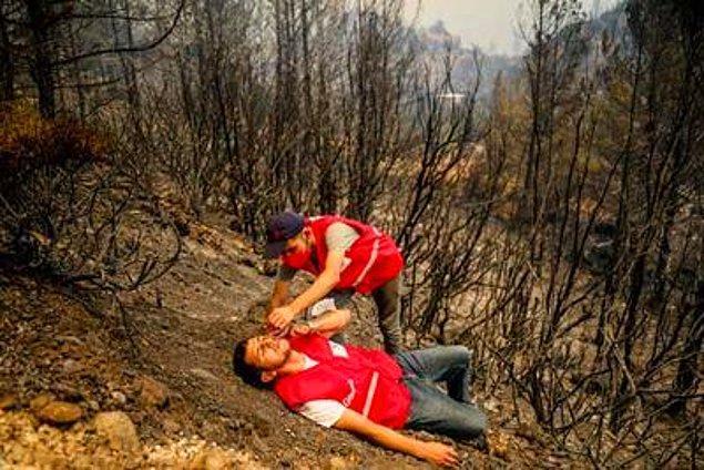 Ekipler ve gönüllüler de canhıraş bir şekilde yangını söndürmek için uğraştılar. Belediyeler ve sivil toplum kuruluşları, zaman zaman gerekli ihtiyaç listelerini yayınladılar.