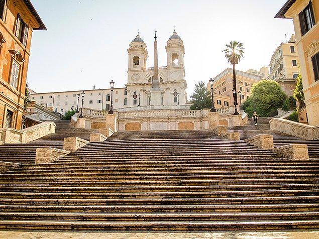 1. Spanish Steps, İtalya
