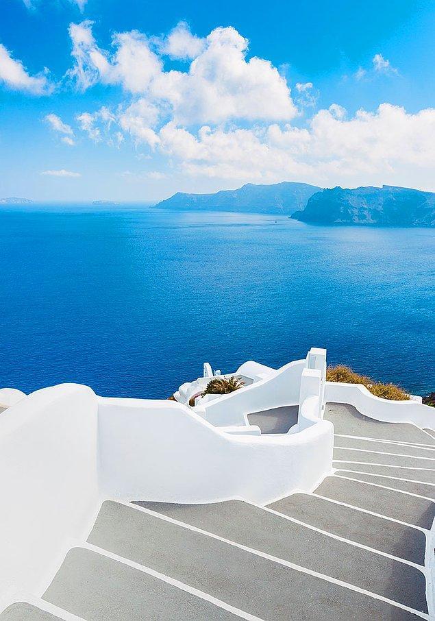 2. Santorini Merdivenleri, Yunanistan