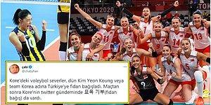 Kardeş Ülkeden Destek! Voleybol Maçının Ardından Güney Kore Halkı Türkiye'ye Yardım Etmek İçin Seferber Oldu