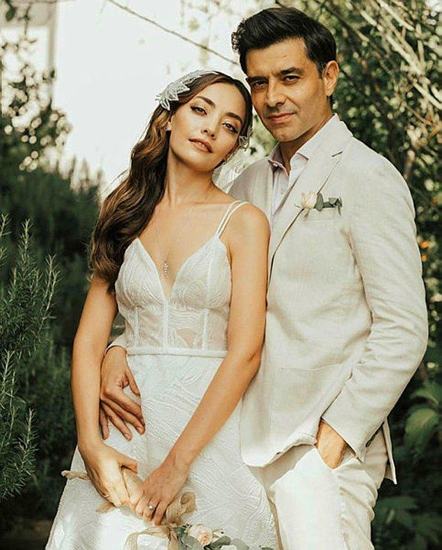8. Gelelim düğününde iki farklı gelinlik giymeyi tercih eden bir başka güzele: Zeynep Tuğçe Bayat