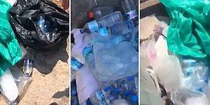 Yangın Bölgesine Gönderilen Sular Neden Çöpe Atılıyor?