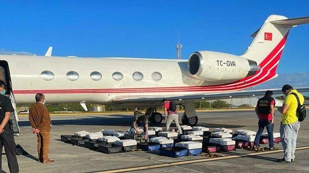Uçağın ait olduğu şirketten açıklama