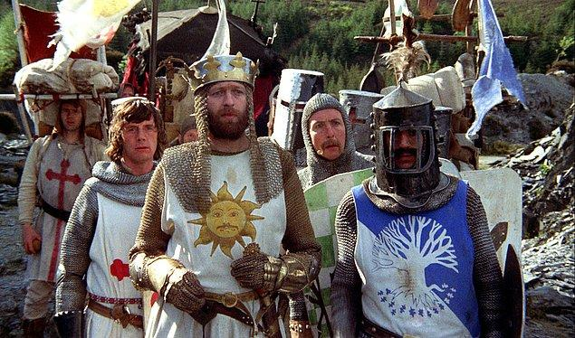 4. Monty Python and the Holy Grail, 1975