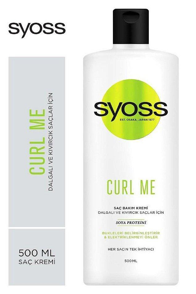 10. Kıvırcık saçların dramasına Syoss Curl Me ile son verin!