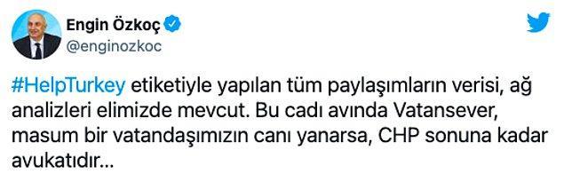 """CHP'de açıklama: """"Veriler elimizde"""""""