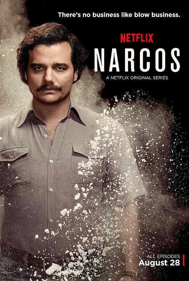 2. Narcos (2015 - 2017) - IMDb: 8.9