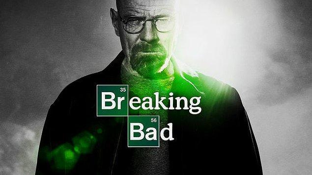 1. Breaking Bad (2008 - 2013) - IMDb: 9.4