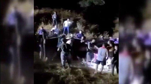 Dün gece yabancı plakalı kırmızı renkli bir otomobilin Aydın'da bulunan bir köye girmesi üzerine durumdan şüphelenen köylüler aracı uzaktan takibe aldı.