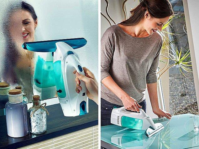 19. Pencereleri, cam yüzeyli masalarınızı ve aynaları ışıl ışıl yapacak harika bir temizleme seti, işlerinizi büyük ölçüde kolaylaştıracak.