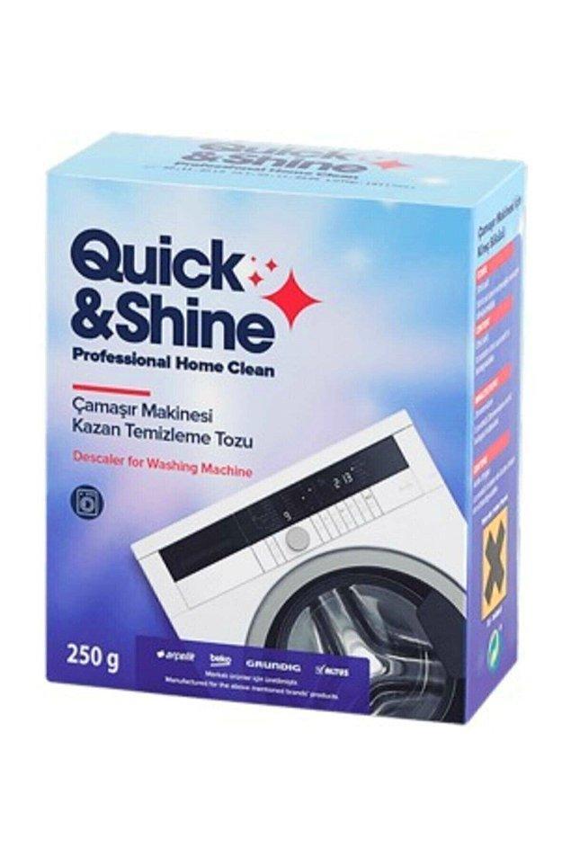 13. Çamaşır makinesi her kıyafetimizi tertemiz yapıyor. Peki ya biz onu temizliyor muyuz?